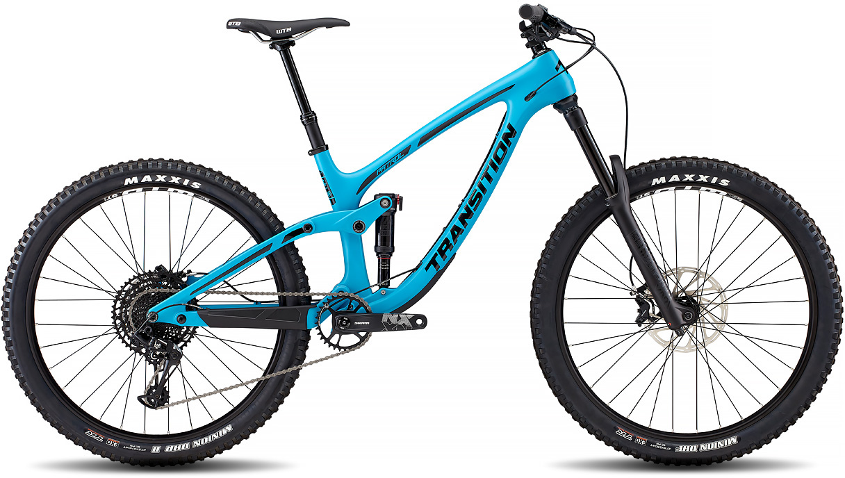 2ae40bb1333 Transition Patrol Carbon NX 27.5 Mountain Bike TR Blue £3,999.95