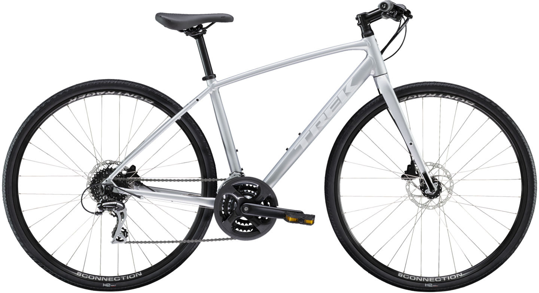 Trek Fx 2 Disc Womens Hybrid Bike 2021 Matte Quicksilver 460 00