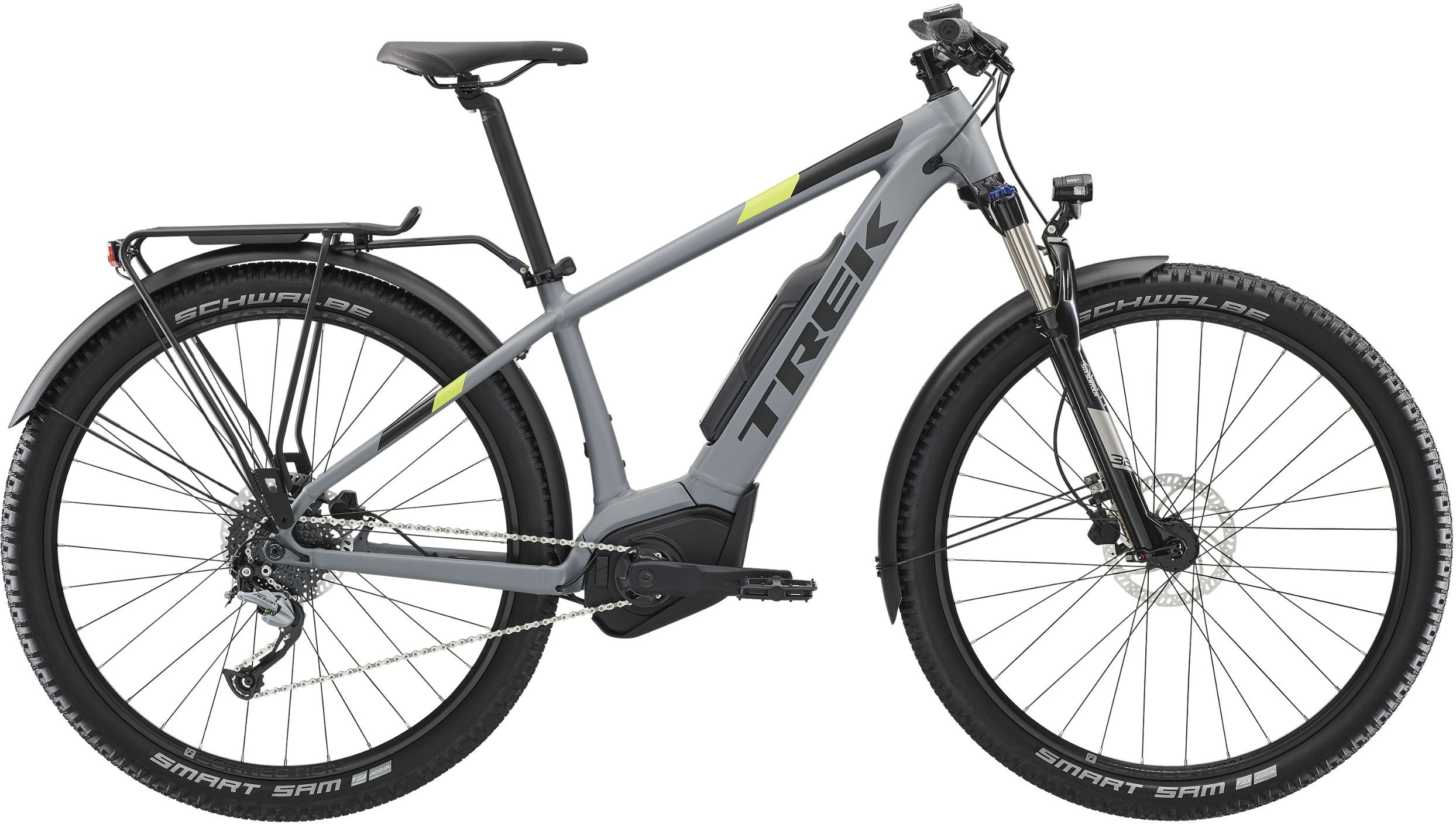 12b406c333f Trek Powerfly Sport Electric Bike 2019 Matte Slate £2