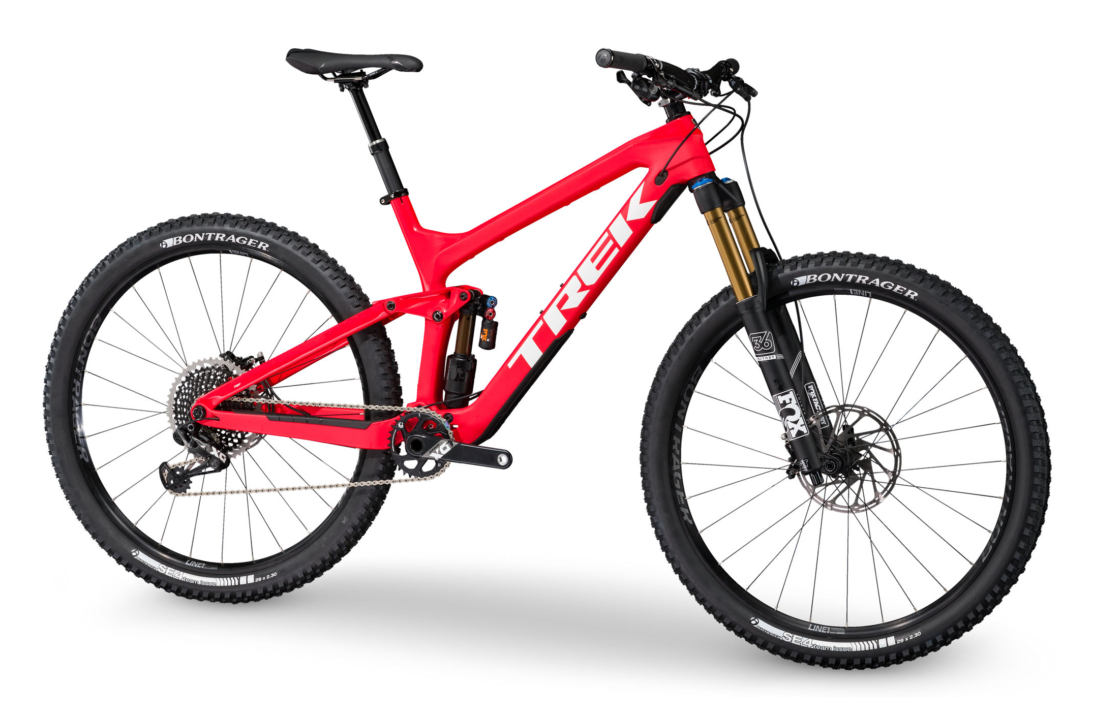 Trek Slash 9 9 29er Race Shop Limited Mountain Bike 2017 Red White