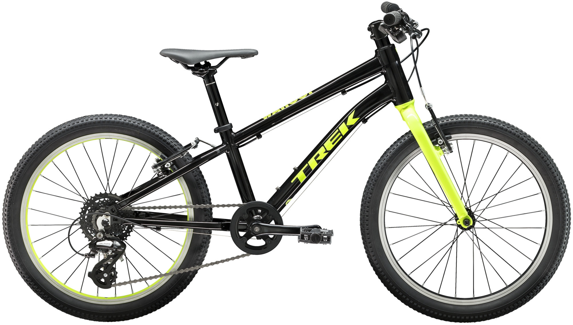 Trek Wahoo 20 Kids Bike 2020 Black/Volt
