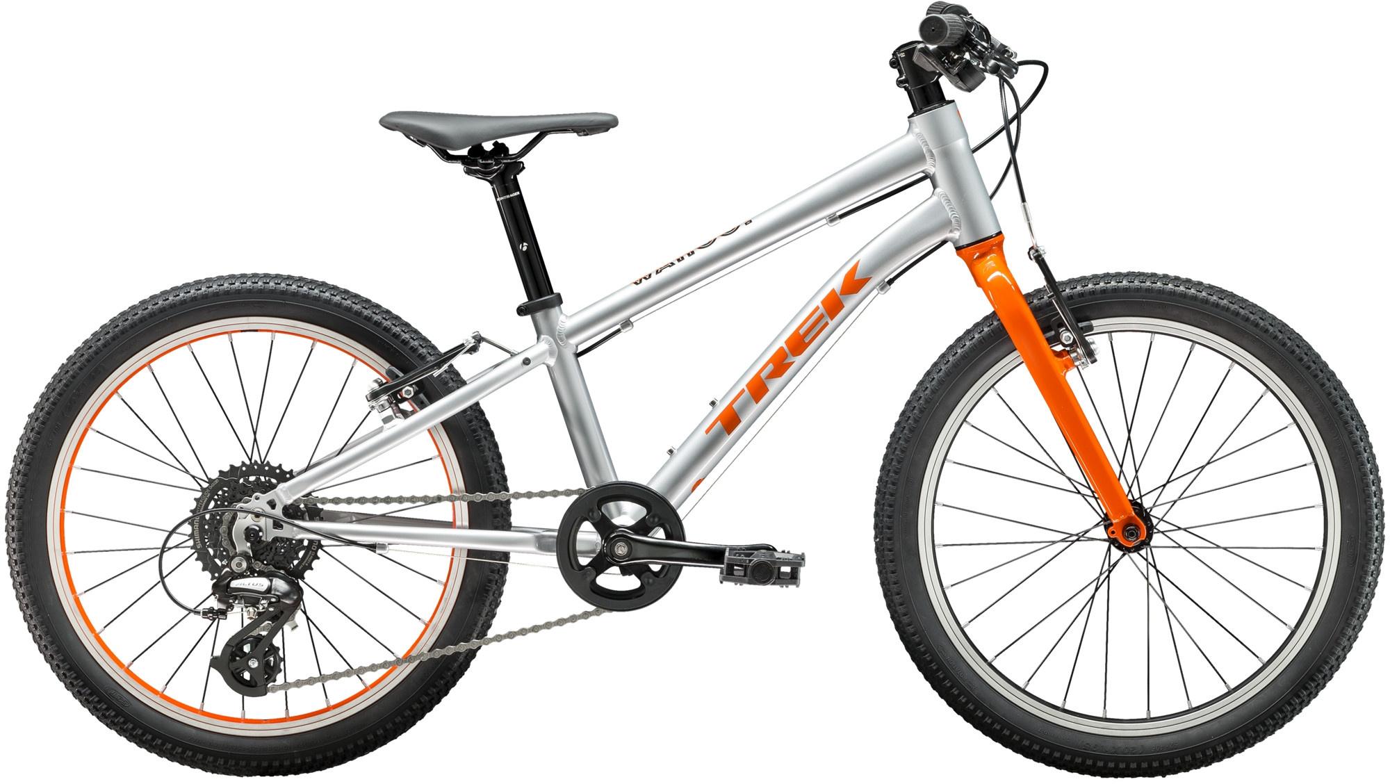 Trek Wahoo 20 Kids Bike 2020 Quicksilver/Roarange