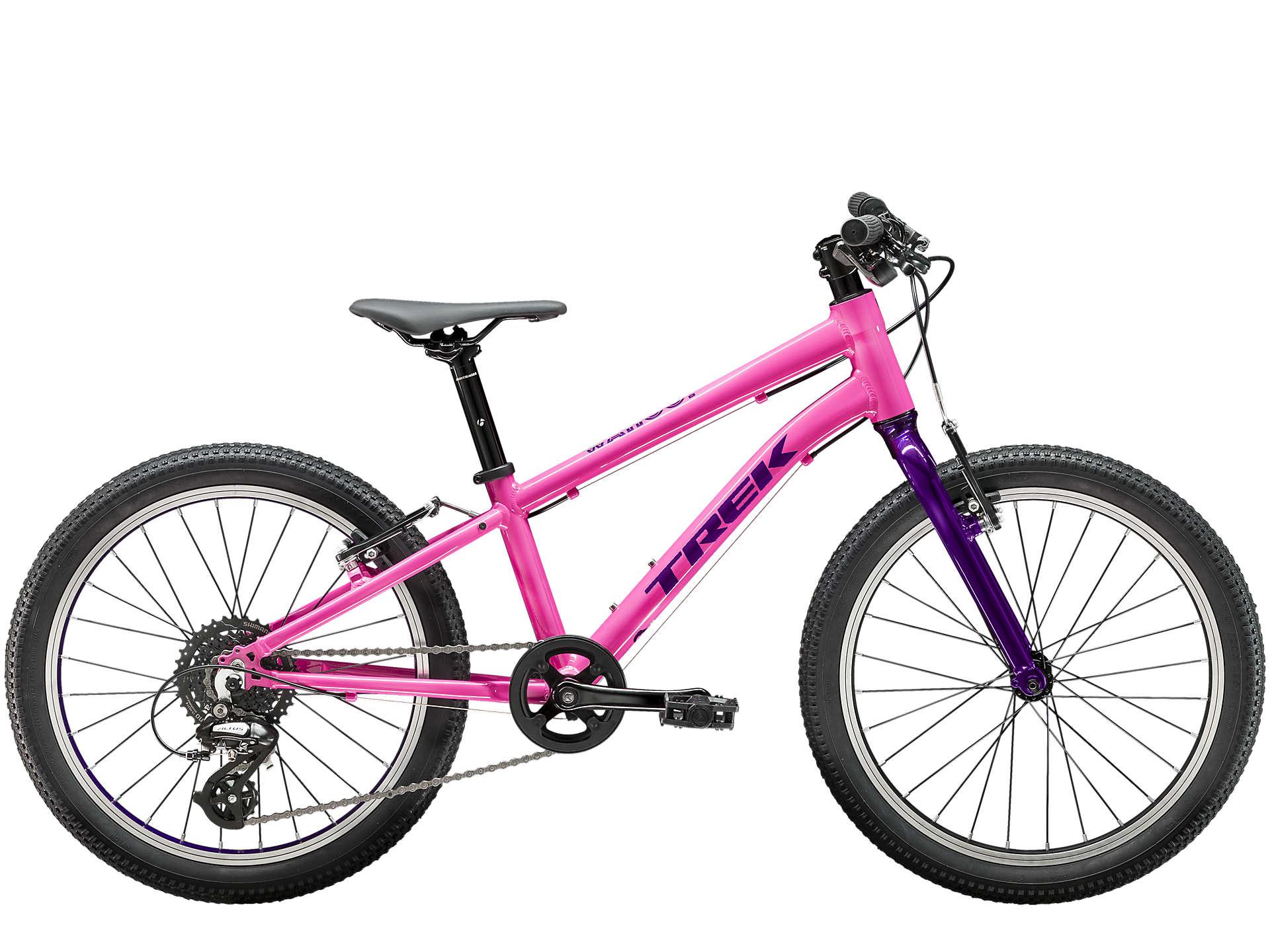 """Trek Wahoo 20"""" børnecykel MTB - Trek Black/Volt   city-cykel"""