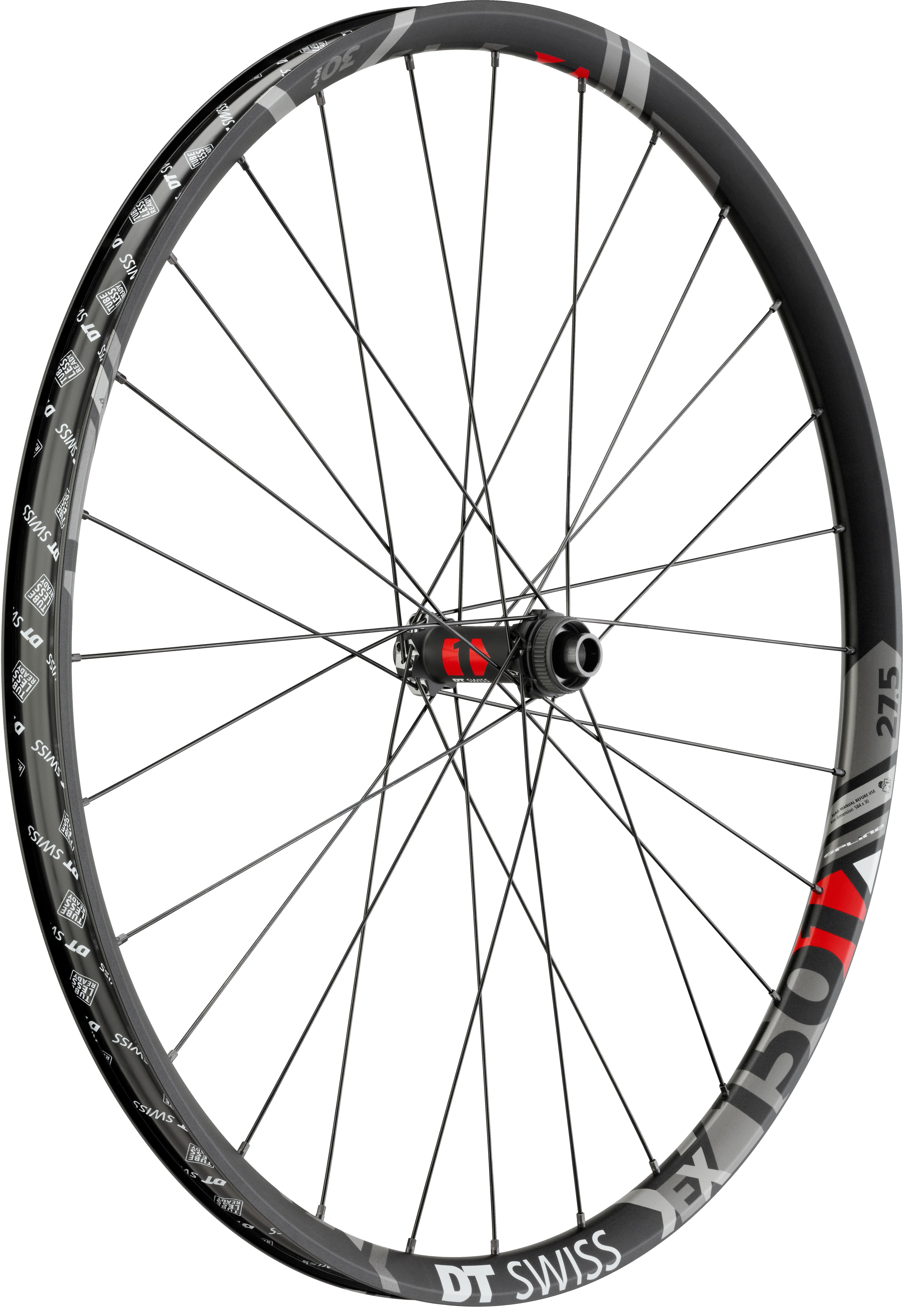 DT Swiss EX 1501 Spline One 25 27.5 Front Wheel 20x110mm