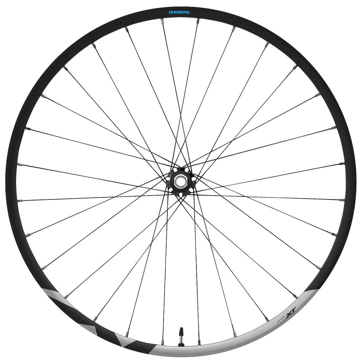Shimano Deore Xt M8100 27.5in 650 15x110mm E-thru Cl Disc Front Wheel