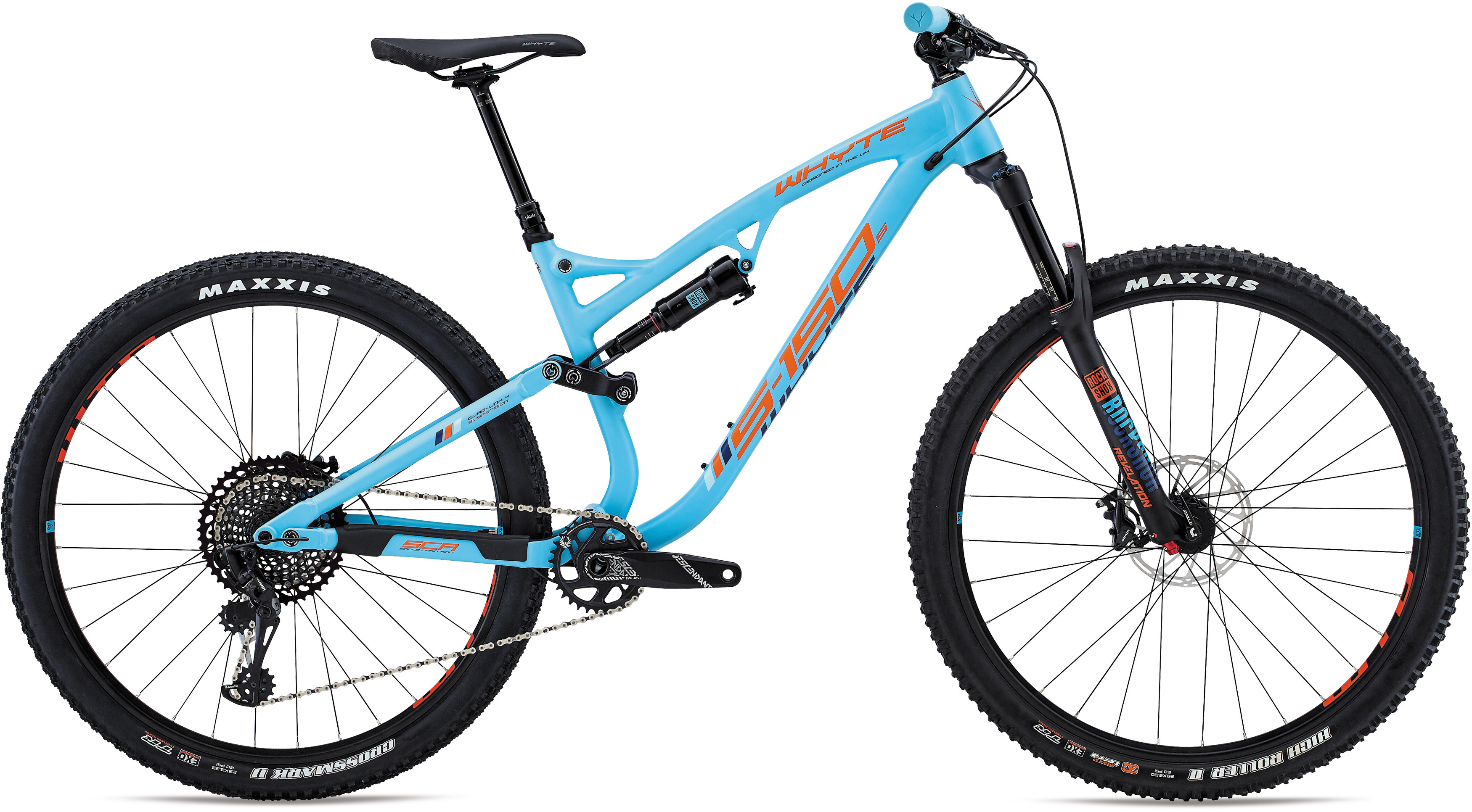 bb47af5c05e Whyte S150 S 29er Mountain Bike 2018 Blue/Orange £2,194.00