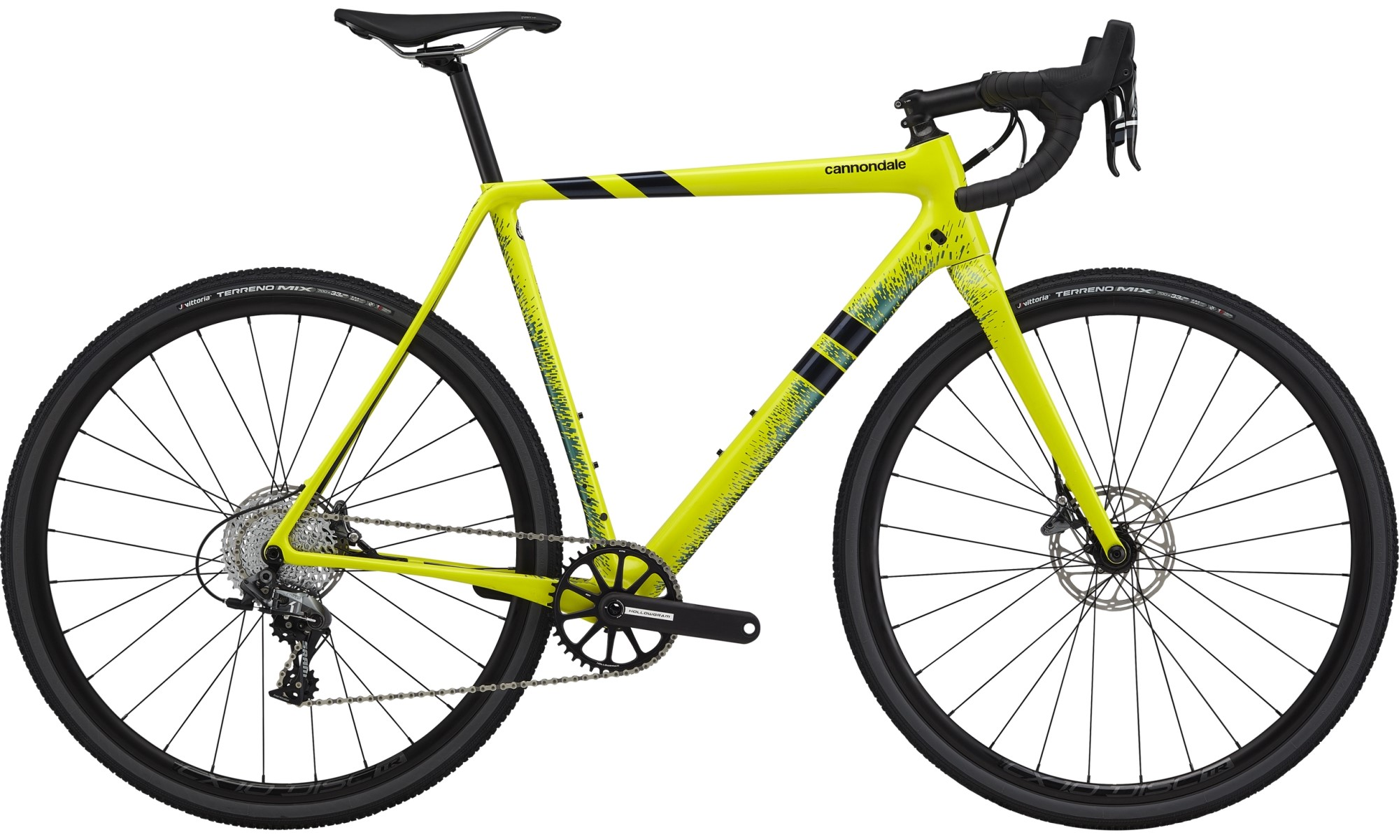 Cannondale SuperX Force 1 Cyclocross Bike 2021 Nuclear Yellow