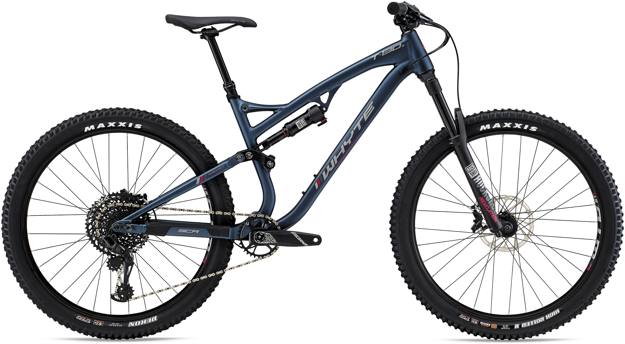 Whyte T130 S 27 5 Mountain Bike 2019 Midnight/Pewter