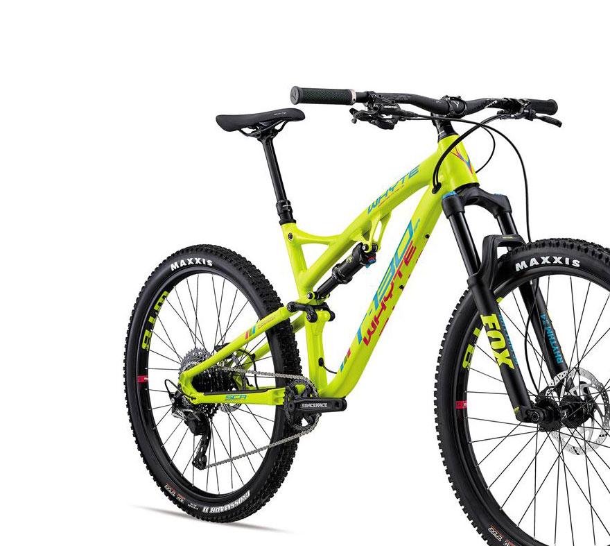 Whyte T130 SR 27.5 Mountain Bike 2018 Lime Eucalyptus £1 90185efb3