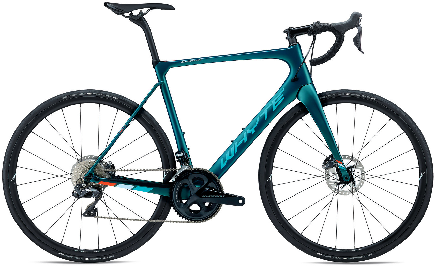 Whyte Wessex Di2 Road Bike 2020 Forest Green/Reef/Sky