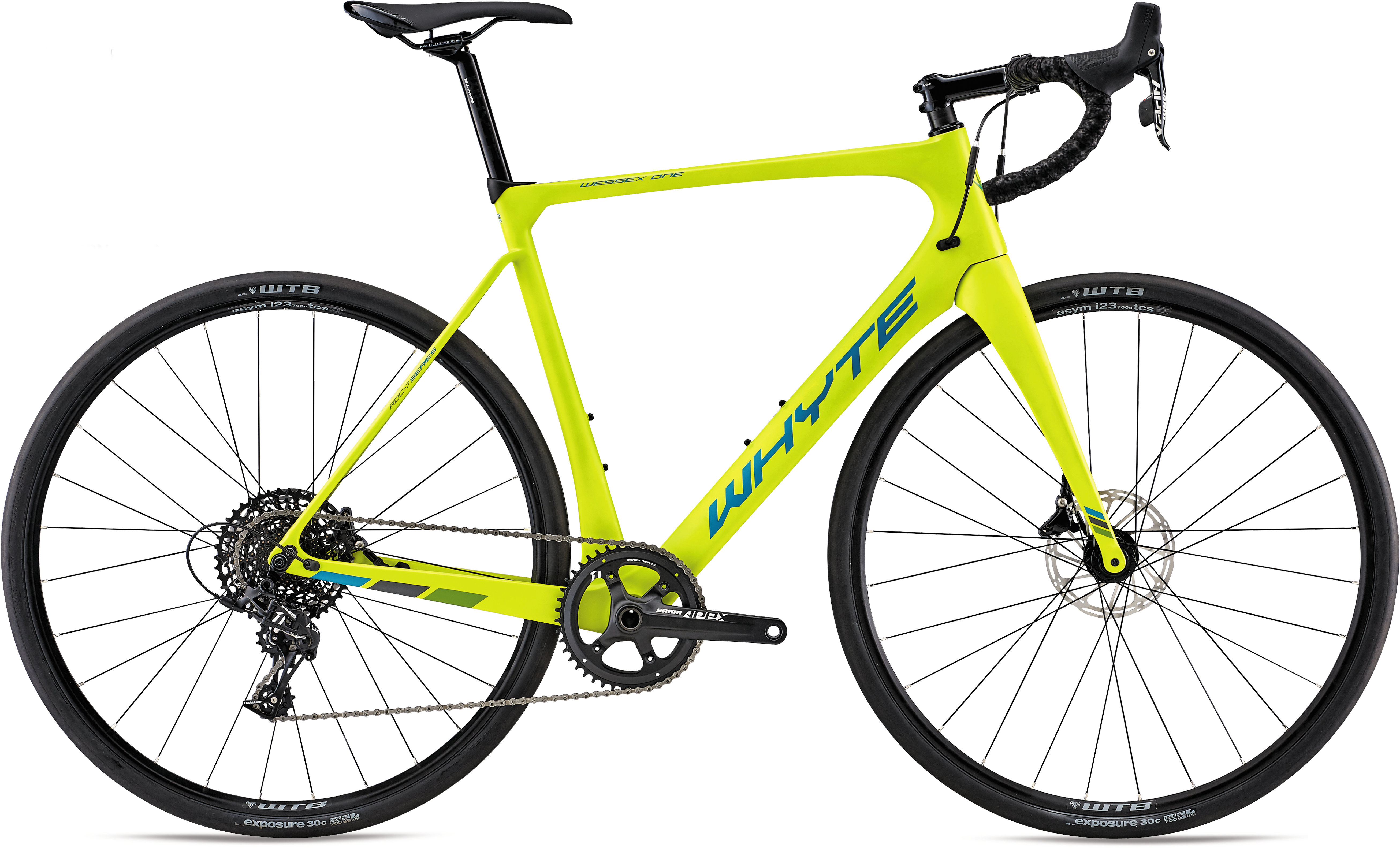 Whyte Wessex One Road Bike 2020 Lime/Eucalyptus