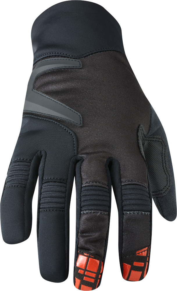 black large blood red Madison Zenith men/'s gloves