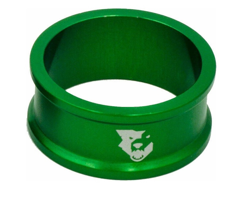 Wolf Tooth Precision Headset Spacers 5 Pack Green