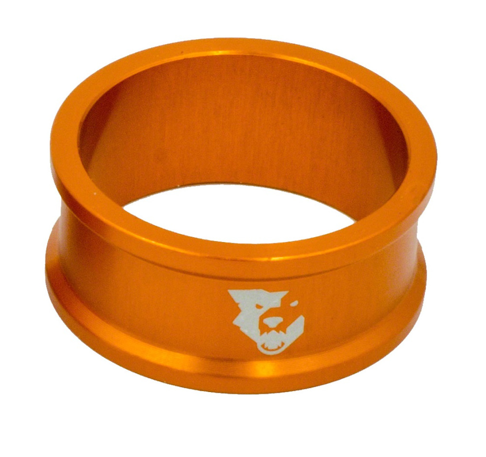 Wolf Tooth Precision Headset Spacers 5 Pack Orange