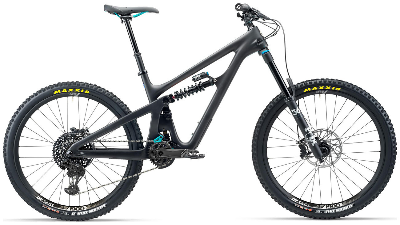 Yeti SB165 C-Series 27.5 Mountain Bike 2020 Carbon Raw Grey