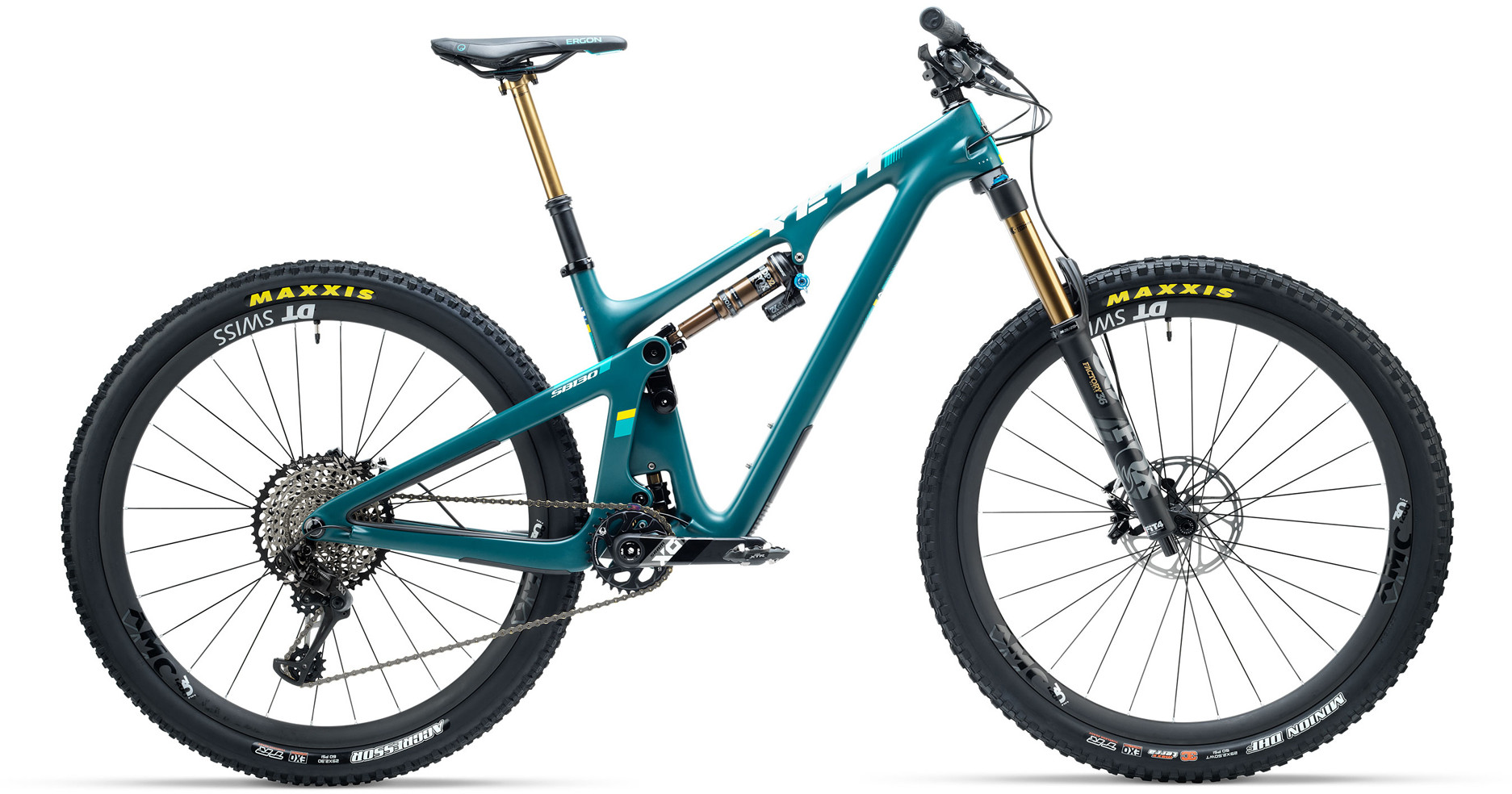 Yeti SB130 Carbon GX Eagle 29er Mountain Bike 2019 Spruce