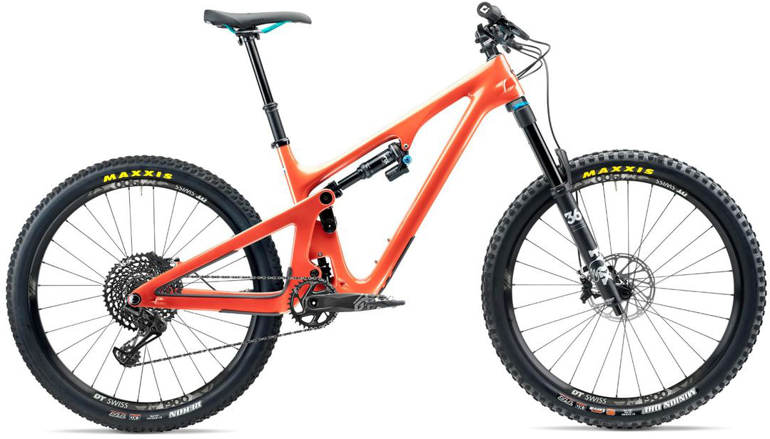 Yeti SB140 C-Series 27.5 Mountain Bike 2020 Inferno Orange