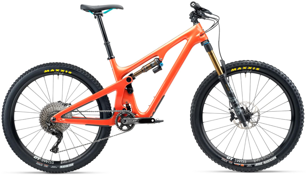 Yeti SB140 T-Series T1 XT 27.5 Mountain Bike 2020 Inferno Orange