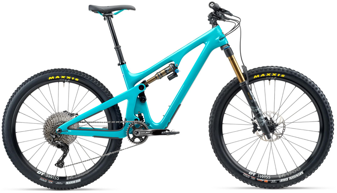 Yeti SB140 T-series T1 XT 27.5 Mountain Bike 2020 Turquoise