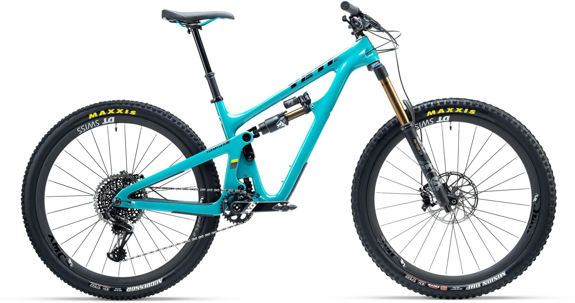 588fcd31e68 Yeti SB150 TURQ X01 Eagle 29er Mountain Bike 2019 Turquoise £7,199.00