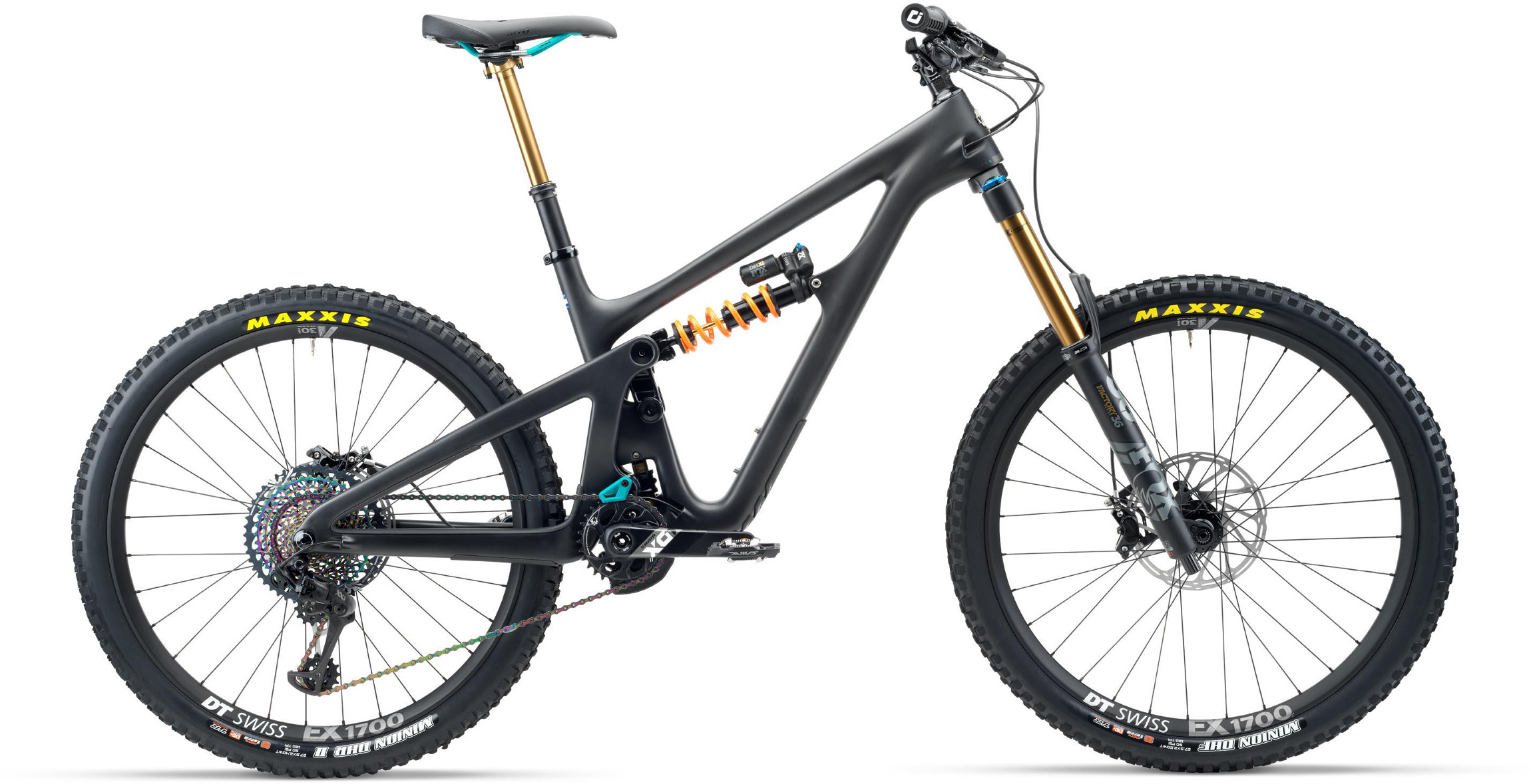 Yeti SB165 T-Series T2 27.5 Mountain Bike 2020 Raw/Grey