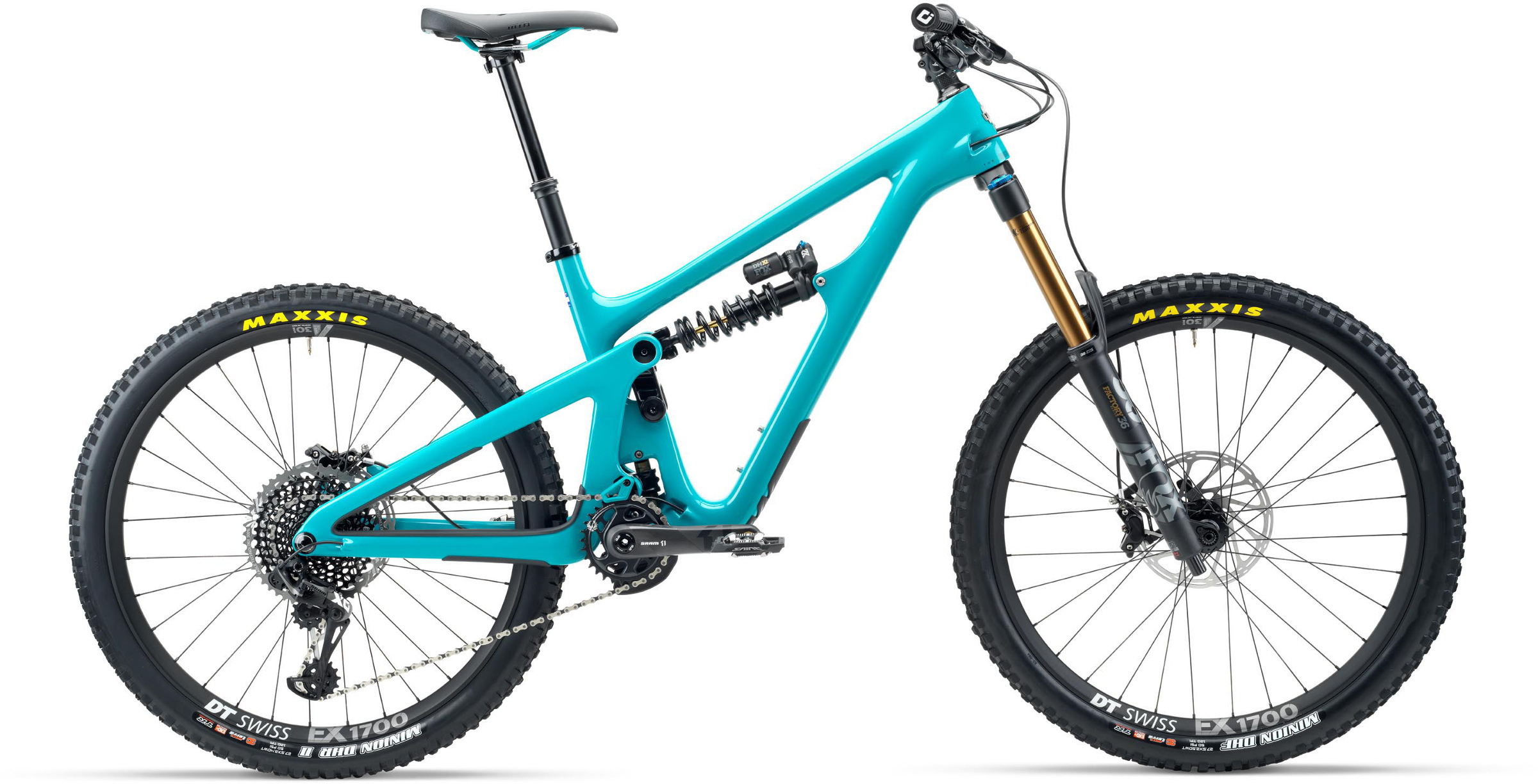 Yeti SB165 T-Series T2 27.5 Mountain Bike 2020 Turquoise