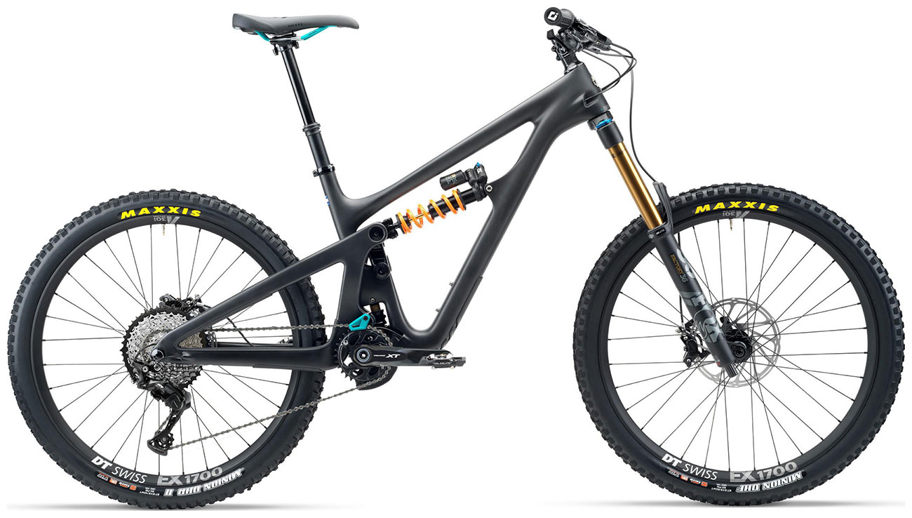 Yeti SB165 T-Series T1 27.5 Mountain Bike 2020 Raw grey Carbon