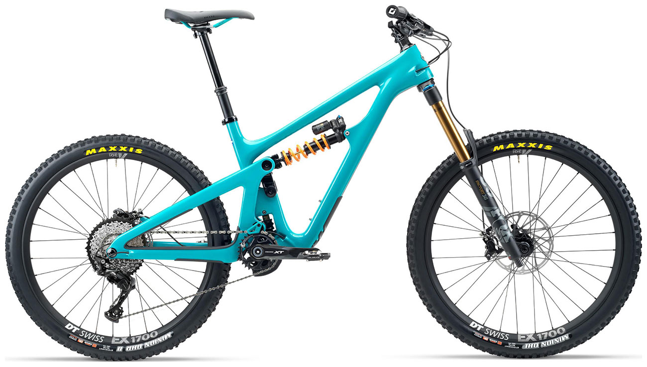 Yeti SB165 T-Series T1 27.5 Mountain Bike 2020 Turquoise