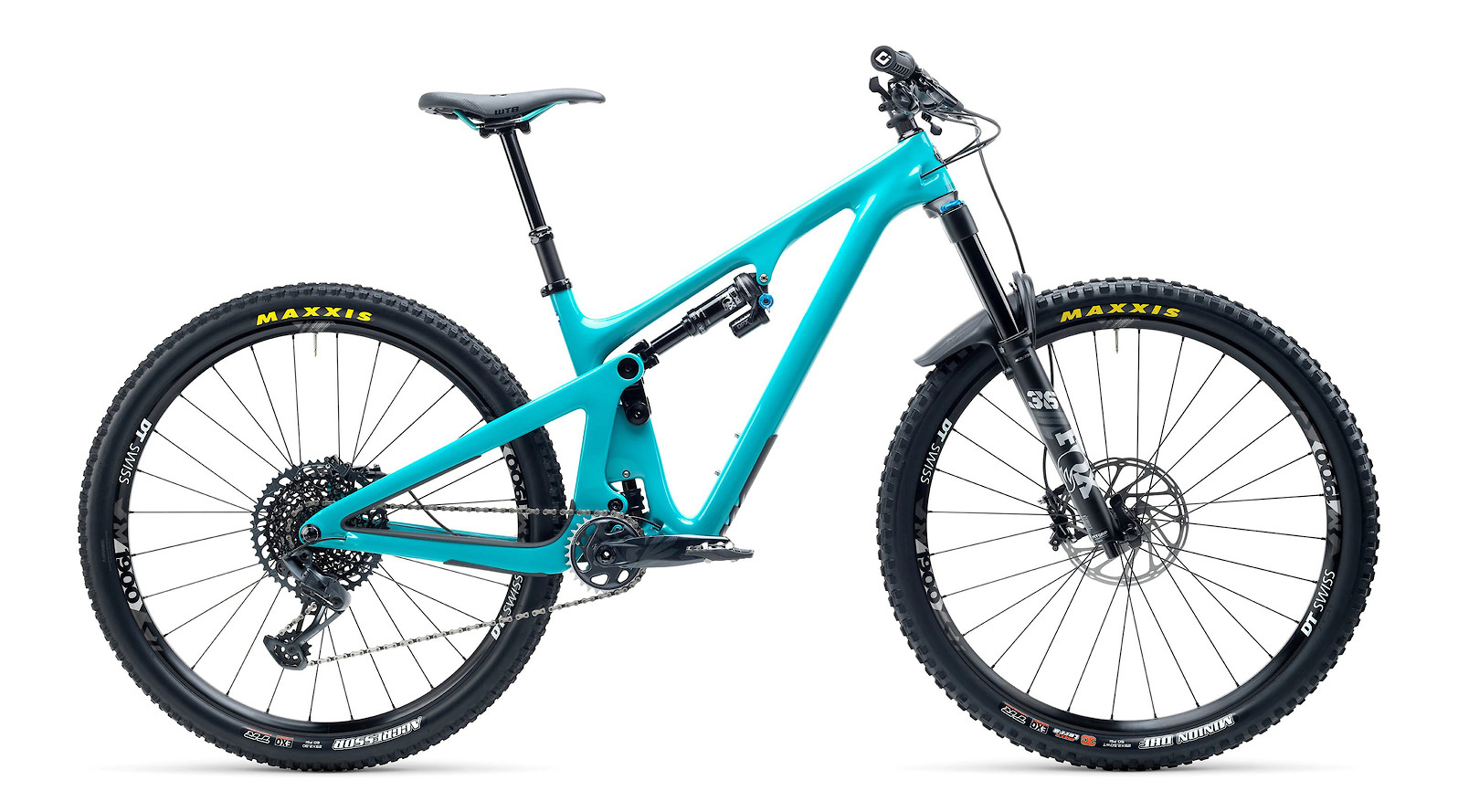 Yeti SB130 C2 Series GX Eagle 12spd Carbon Mountain Bike 2021 Turq