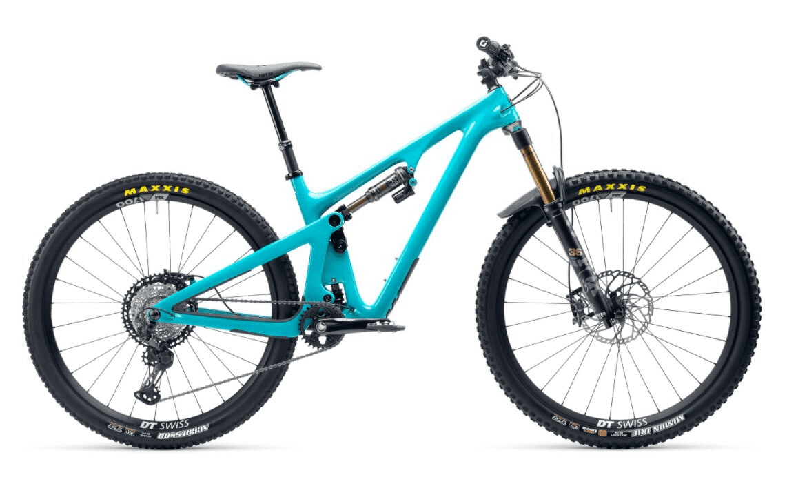 Yeti SB130 T1 Series Shimano XT 29er Carbon Mountain Bike 2021 Turq